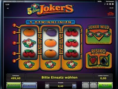 Toy slot machines