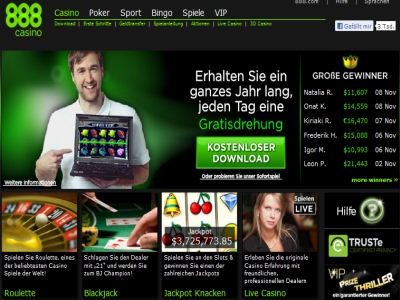 online casino 888 jetzt spie