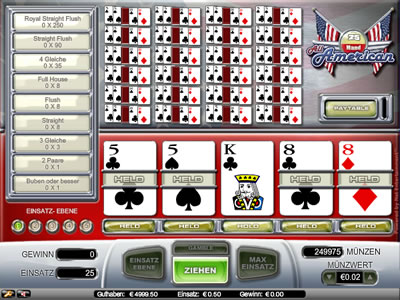 online casino reviewer american poker spielen