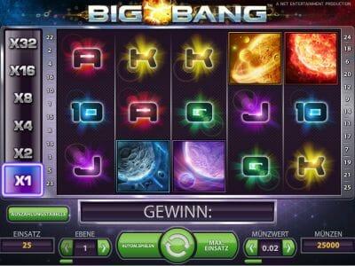 Big Bang Spiel