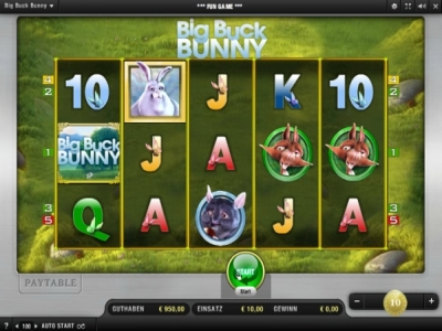 big buck bunny casino