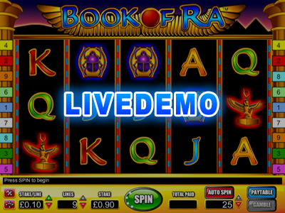 demo spiele book of ra