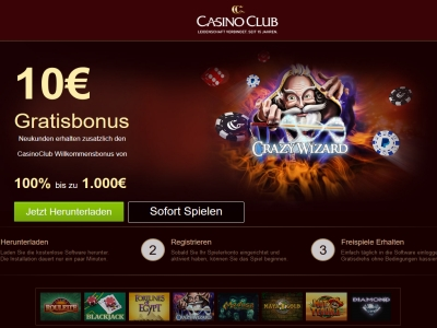 bewertung casino club