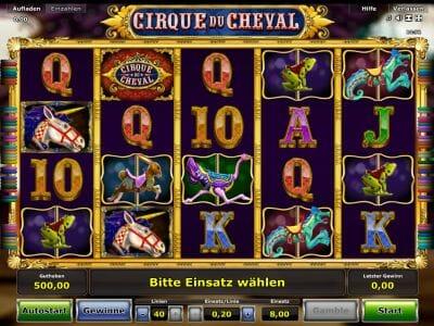 Spiele Cirque Du Cheval - Video Slots Online