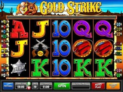 Goldstrike Spielen