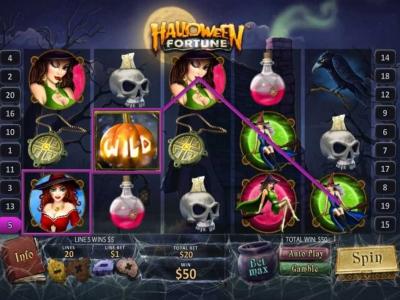 Spielen sie Halloween Fortune Automatenspiele Online bei Casino.com Österreich