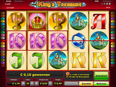 kings treasure spielen