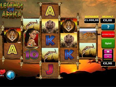 Spiele Legends Of Africa - Video Slots Online