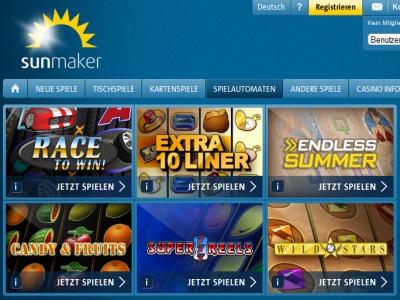 sunmaker casino bewertung