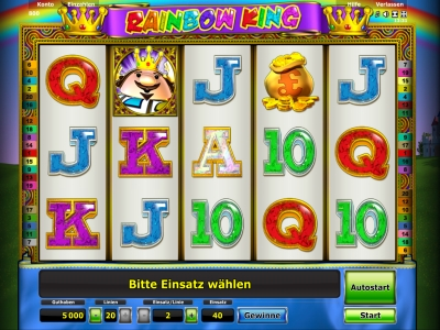 casino las vegas online rainbow king