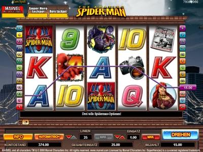 Spiderman slot - spil det gratis på VegasSlotsOnline