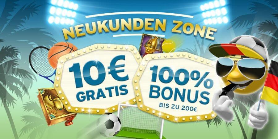 SunnyPlayer Neukunden Bonus