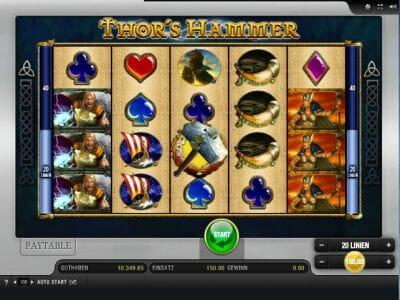 Spiele ThorS Hammer - Video Slots Online