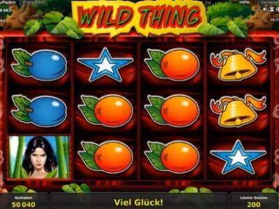 wild thing spielen